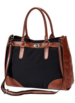 Tas «Carina», bpc bonprix collection, zwart/bruin