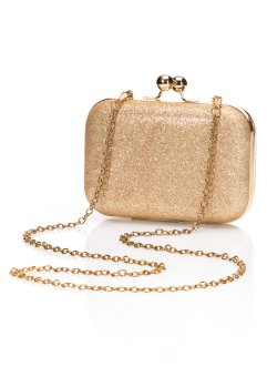 Clutch, bpc bonprix collection, goudkleur