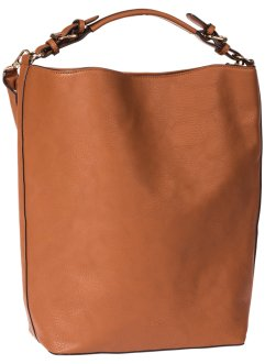 Shopper, bpc bonprix collection, cognac