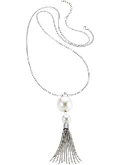 Ketting «Parel», bpc bonprix collection, zilverkleur