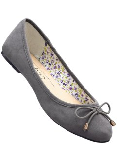 Ballerina's, bpc bonprix collection, lichtgrijs