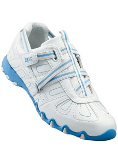 Sportschoenen, bpc bonprix collection, wit/lichtblauw