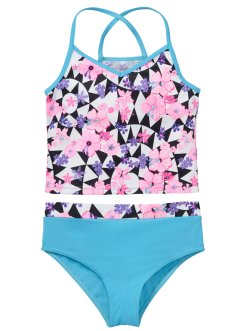 Tankini (2-dlg. set), bpc bonprix collection, wit met print