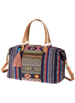 Weekender, bpc bonprix collection, blauw gedessineerd