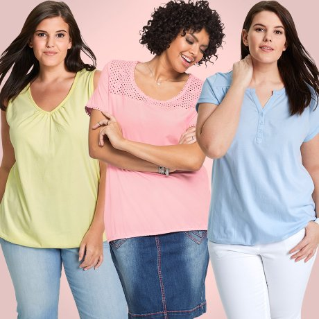 Dames - Grote maten - Trends - Ice Cream Colors