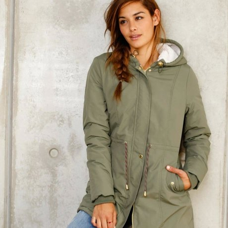 Stories - Parka - donkerblauw