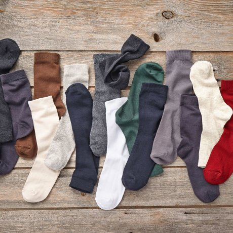 Stories - Socken Basic (10er-Pack) - Grautöne