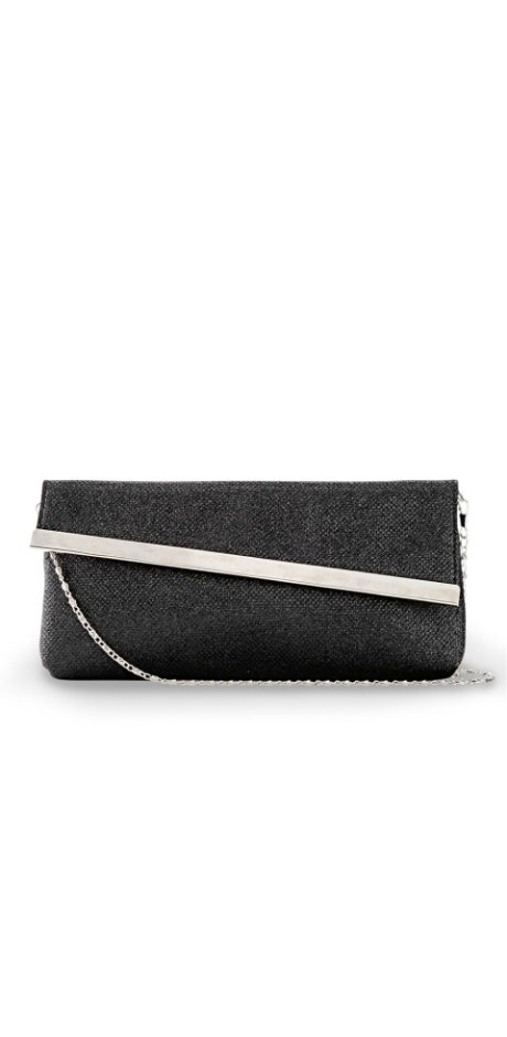 Dames - Clutch - zwart
