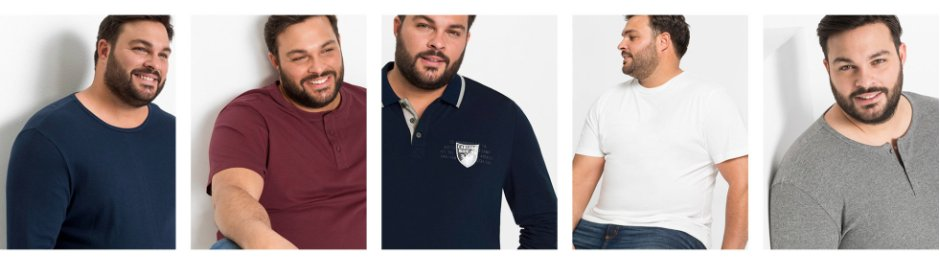 Heren - Grote maten - Kleding - Shirts & polo's - T-shirts