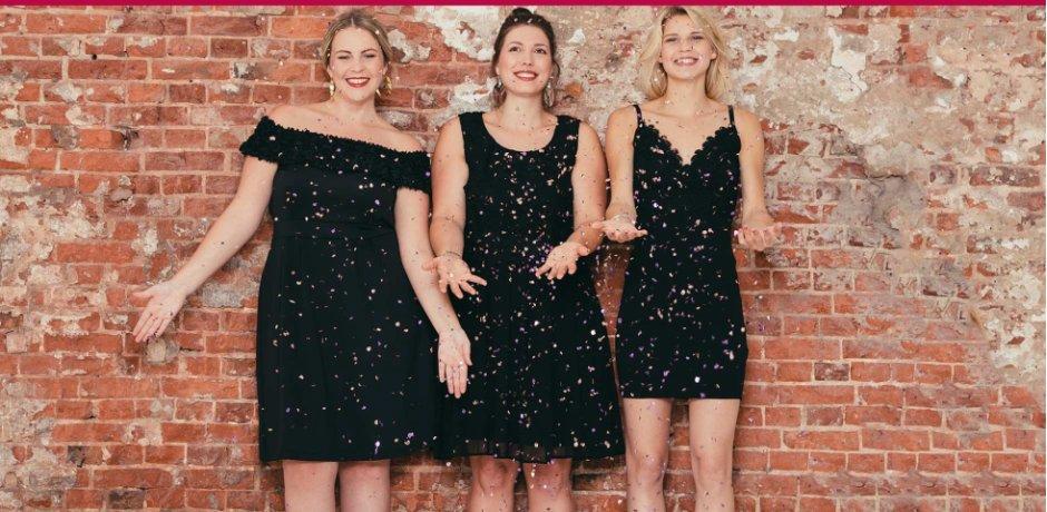 Klassiek Zwart Jurkje.Little Black Dress Op Bonprix Nl Klassiek Elegant