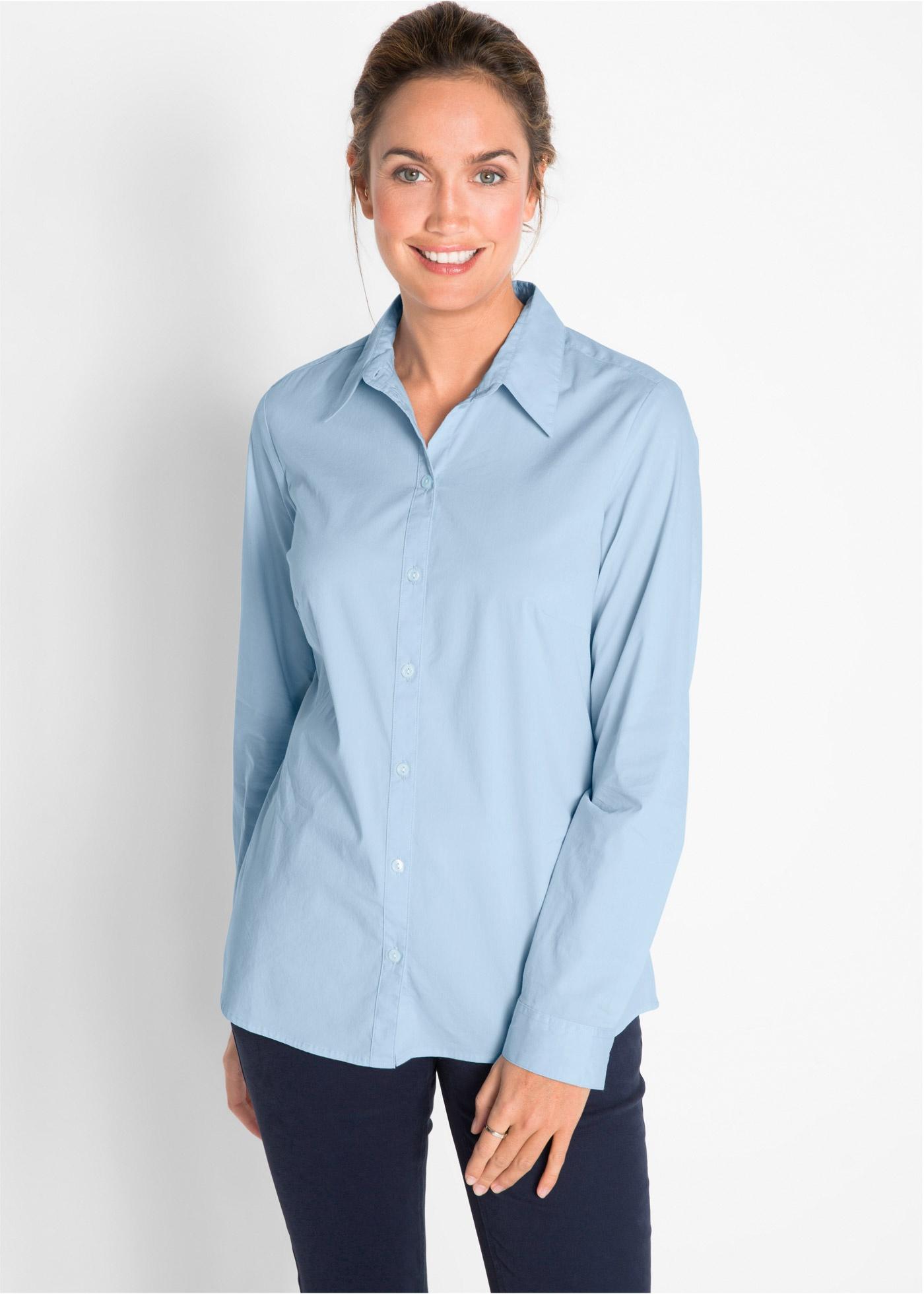 Bonprix Stretch blouse, lange mouw