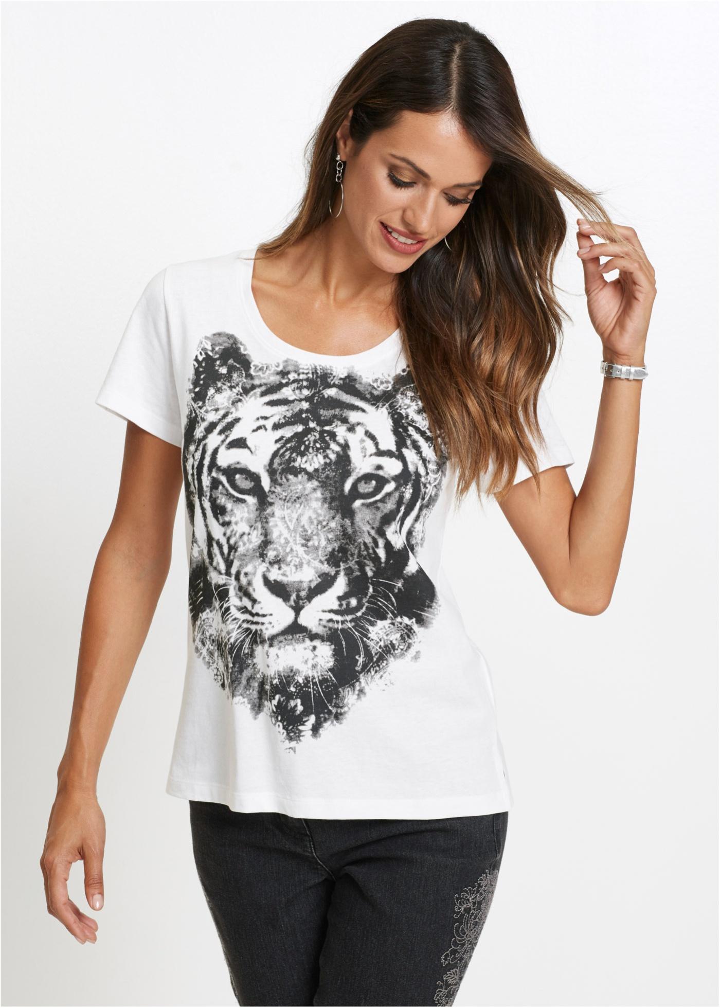 Bonprix Shirt met tijgerprint