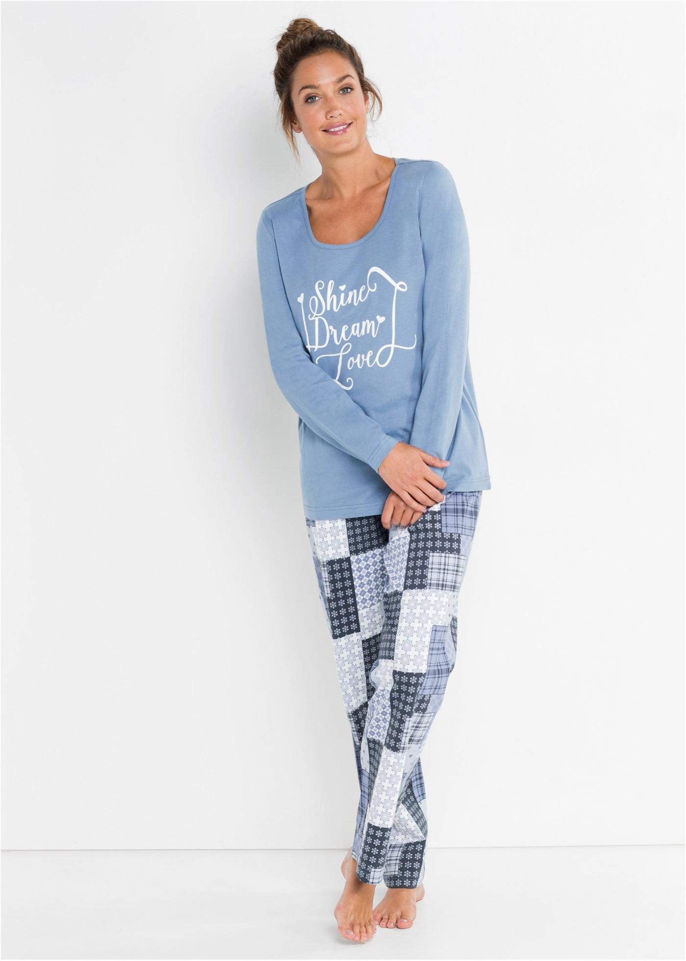 Bonprix Pyjama van biologisch katoen (2-dlg. set)