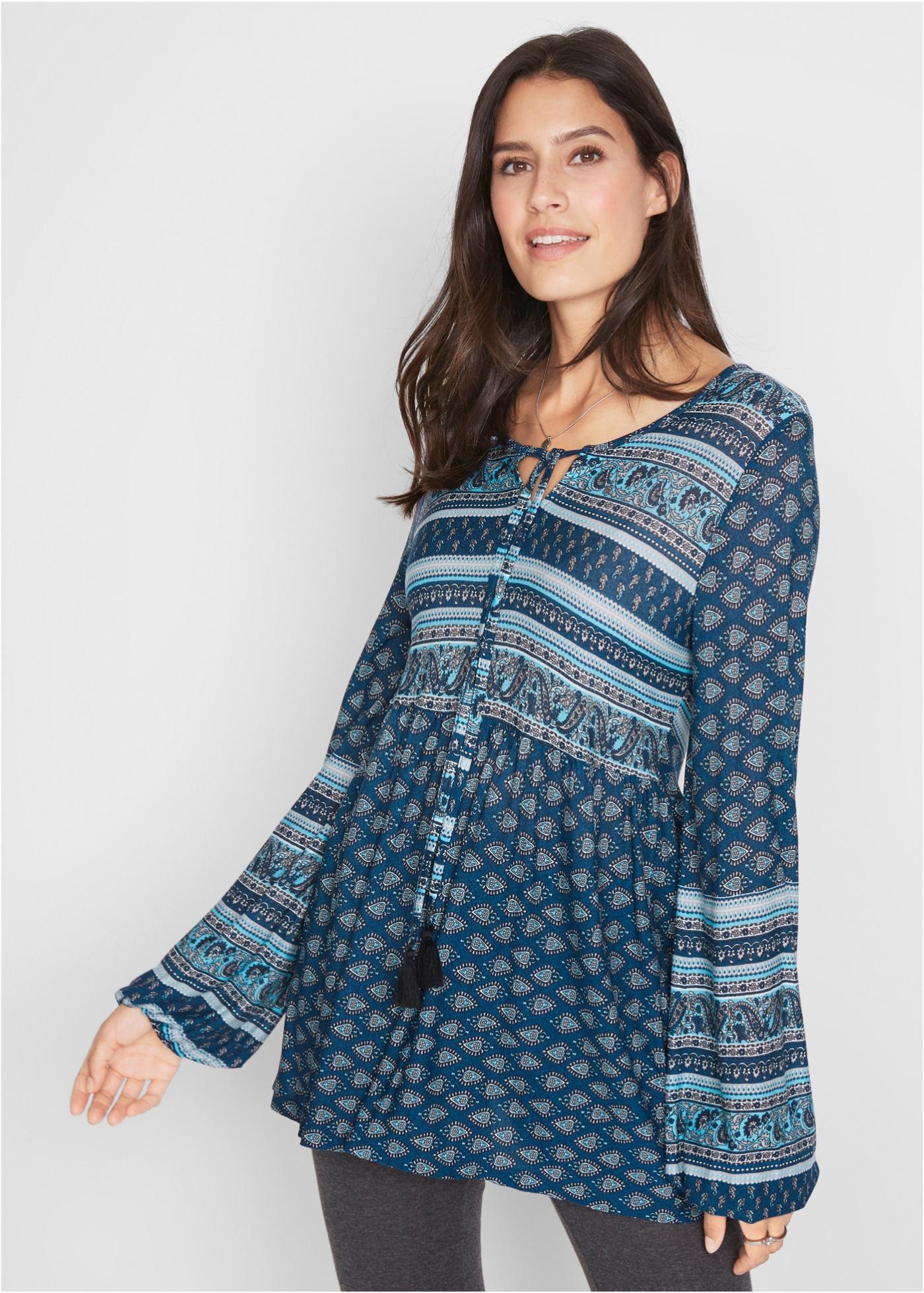 Bonprix Shirt tuniek met print