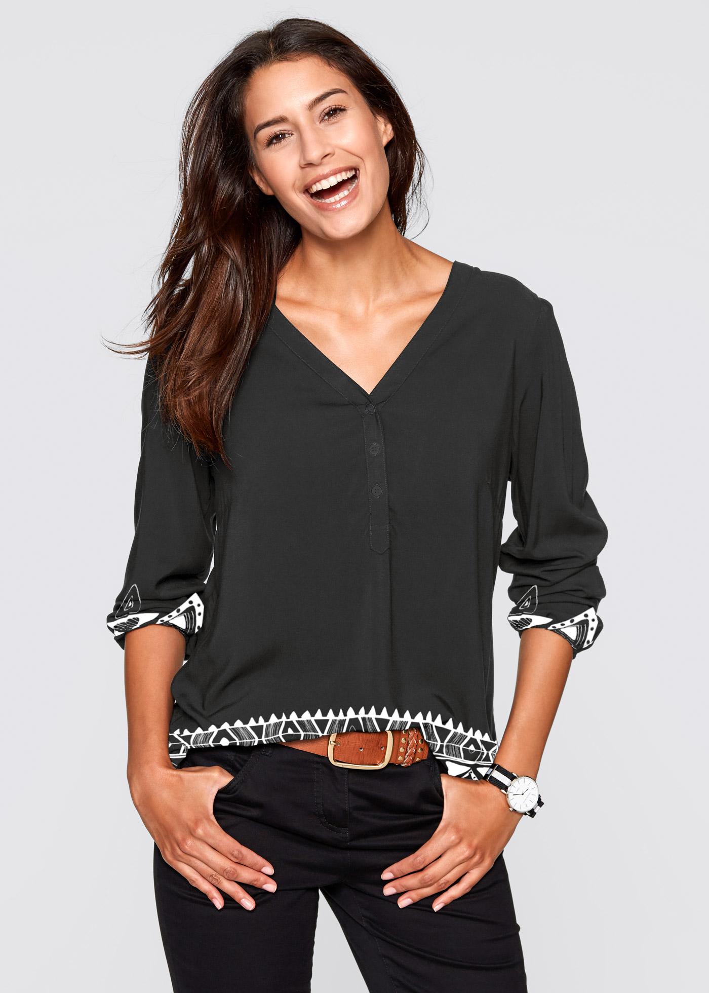 Bonprix Henley blouse