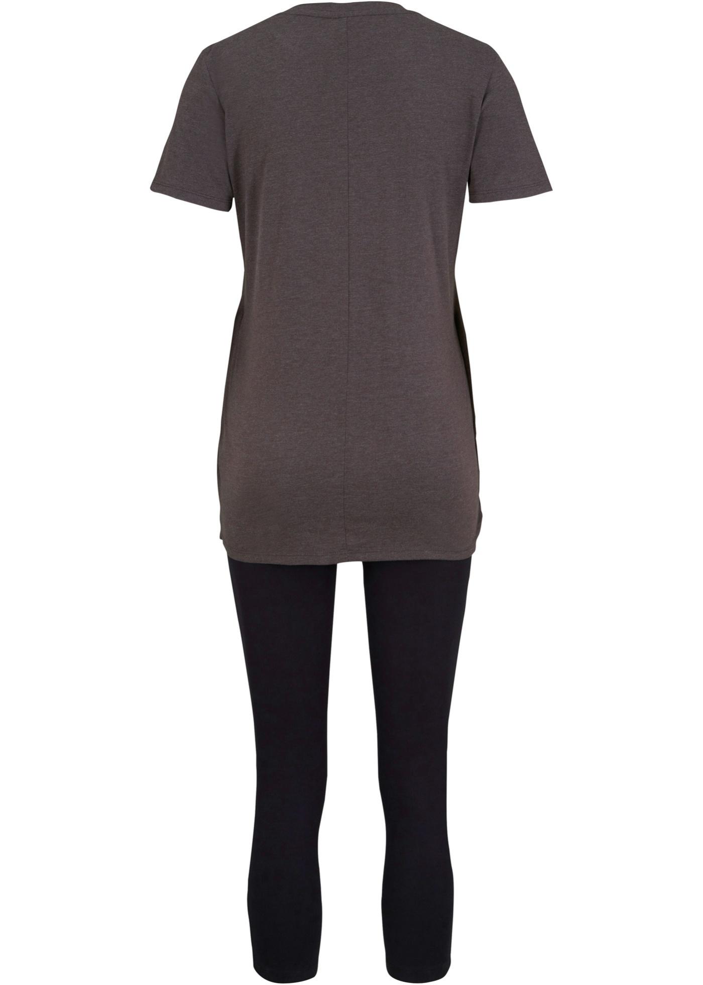 Bonprix 2-delige set: zwangerschapsshirt en broek
