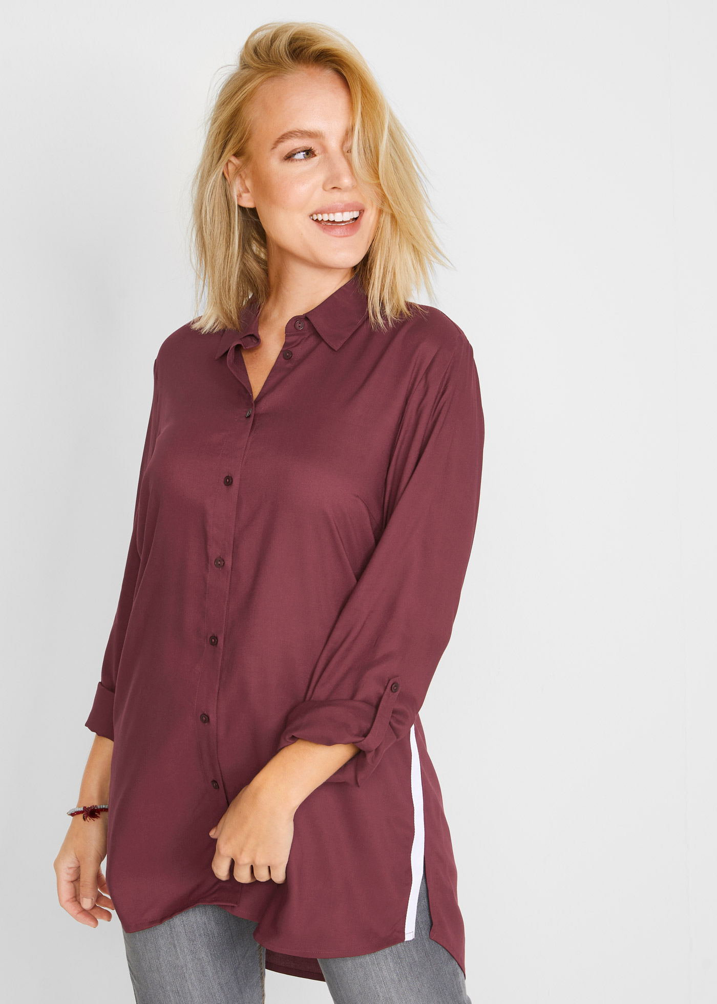 Bonprix Lange blouse met strepen