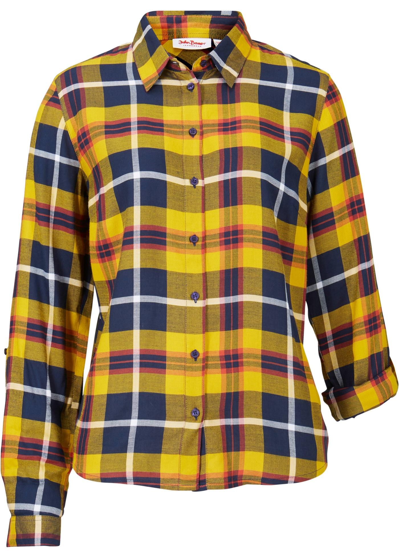 Bonprix Geruite blouse