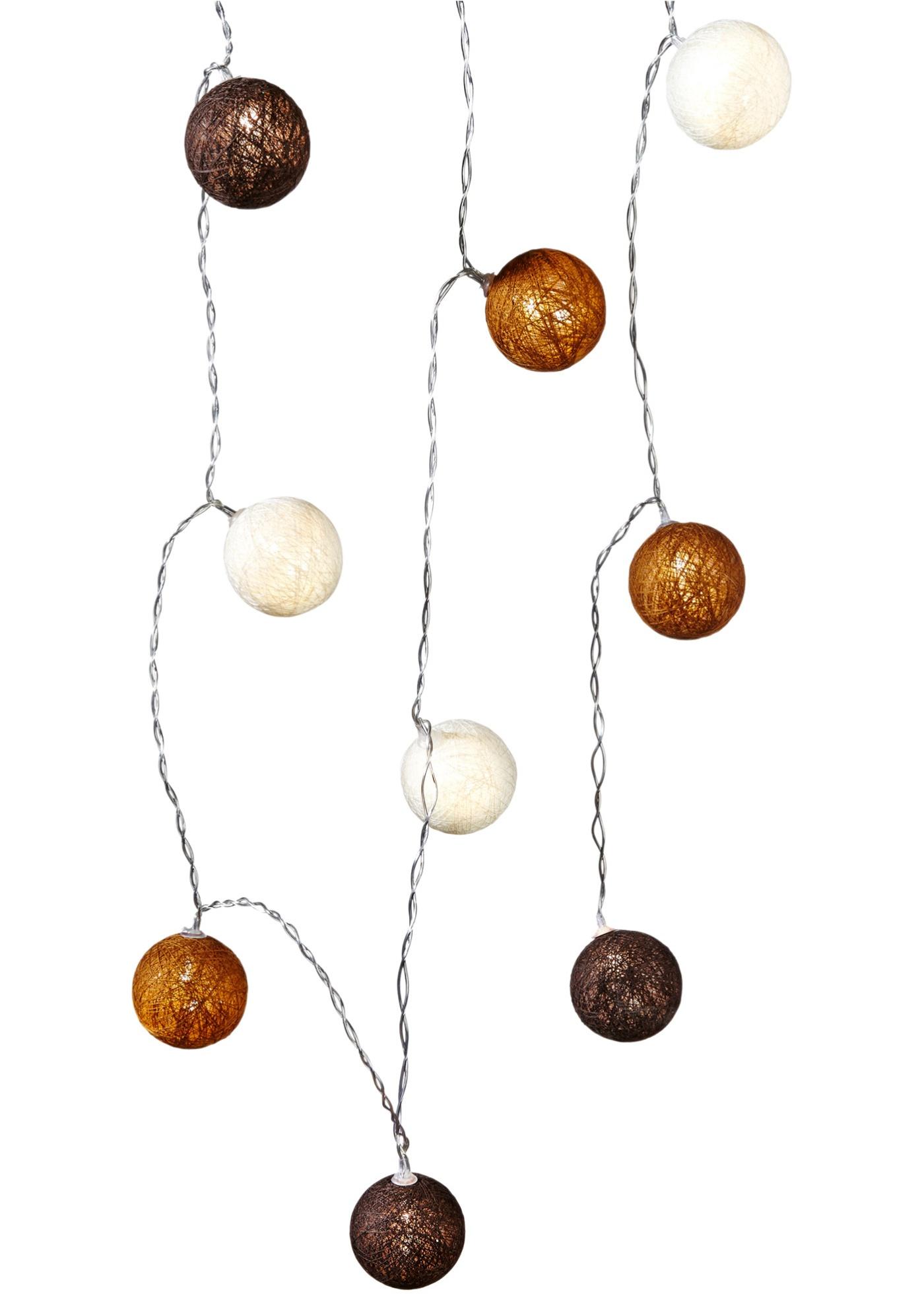 Led-verlichting Cotton Balls (10-dlg.)