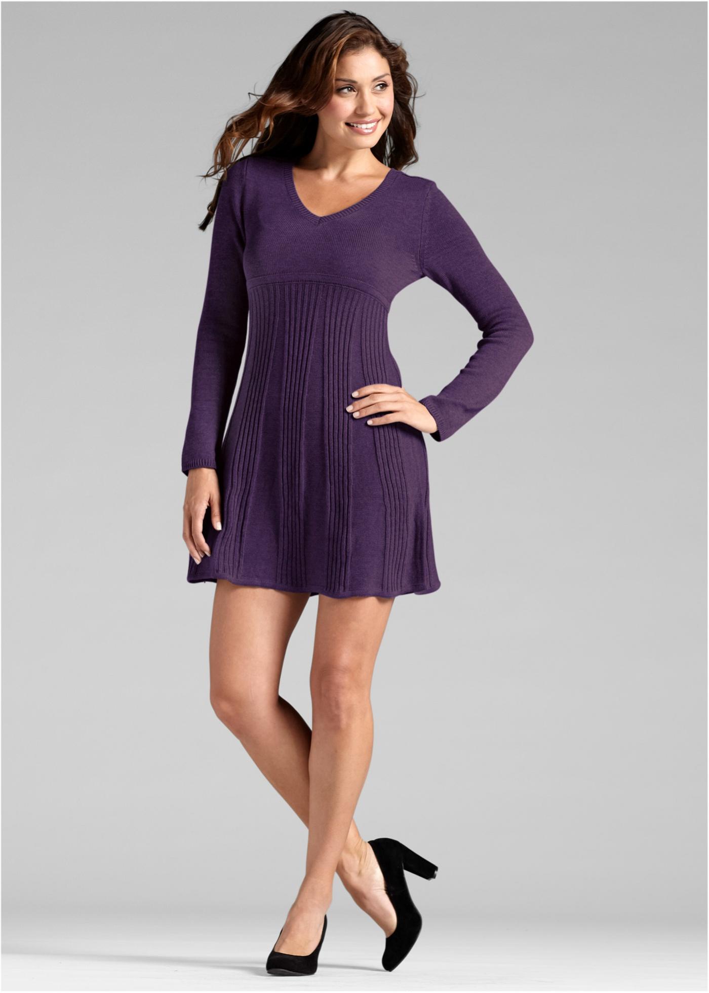 Gebreide jurk