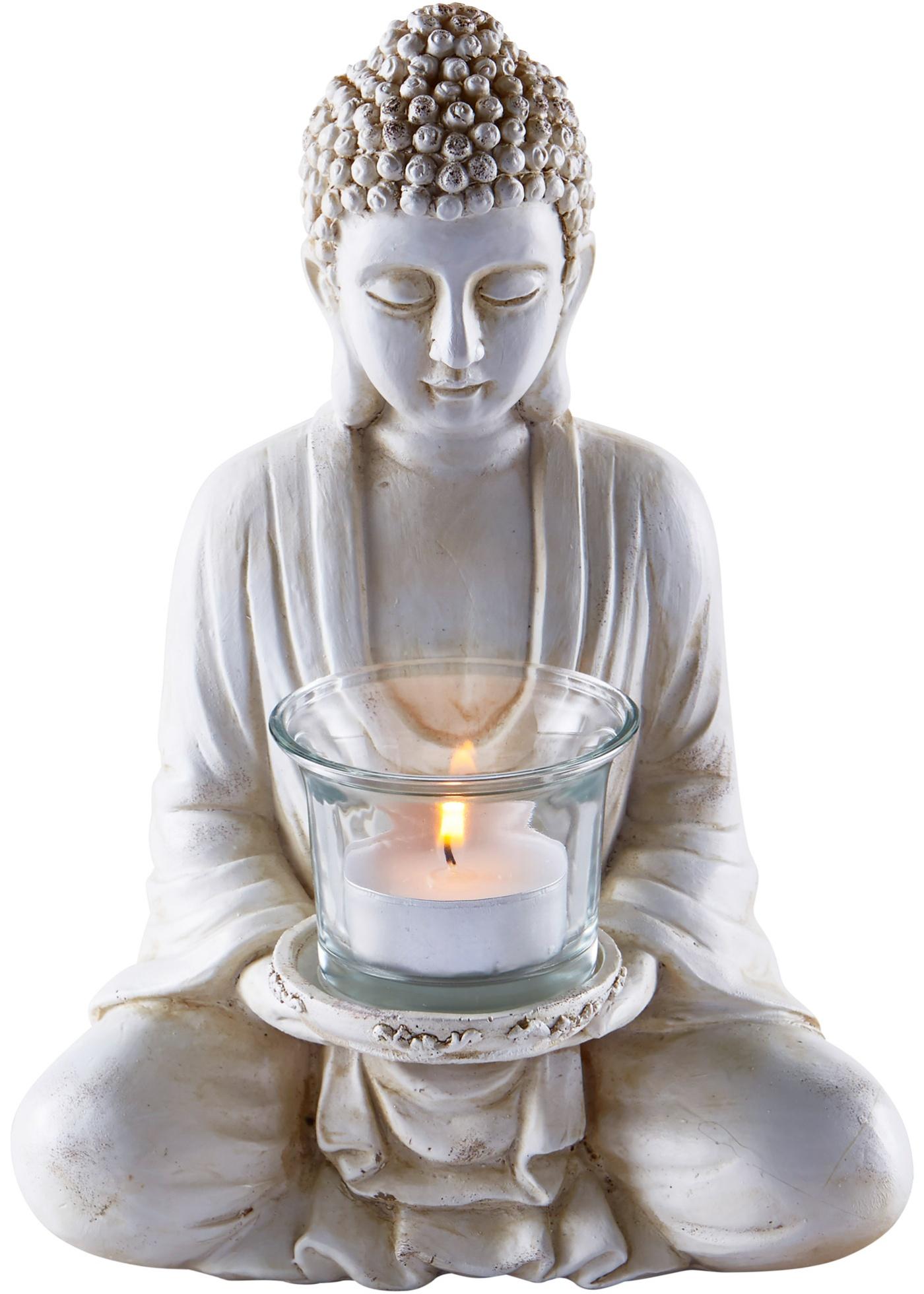 Theelichthouder Boeddha