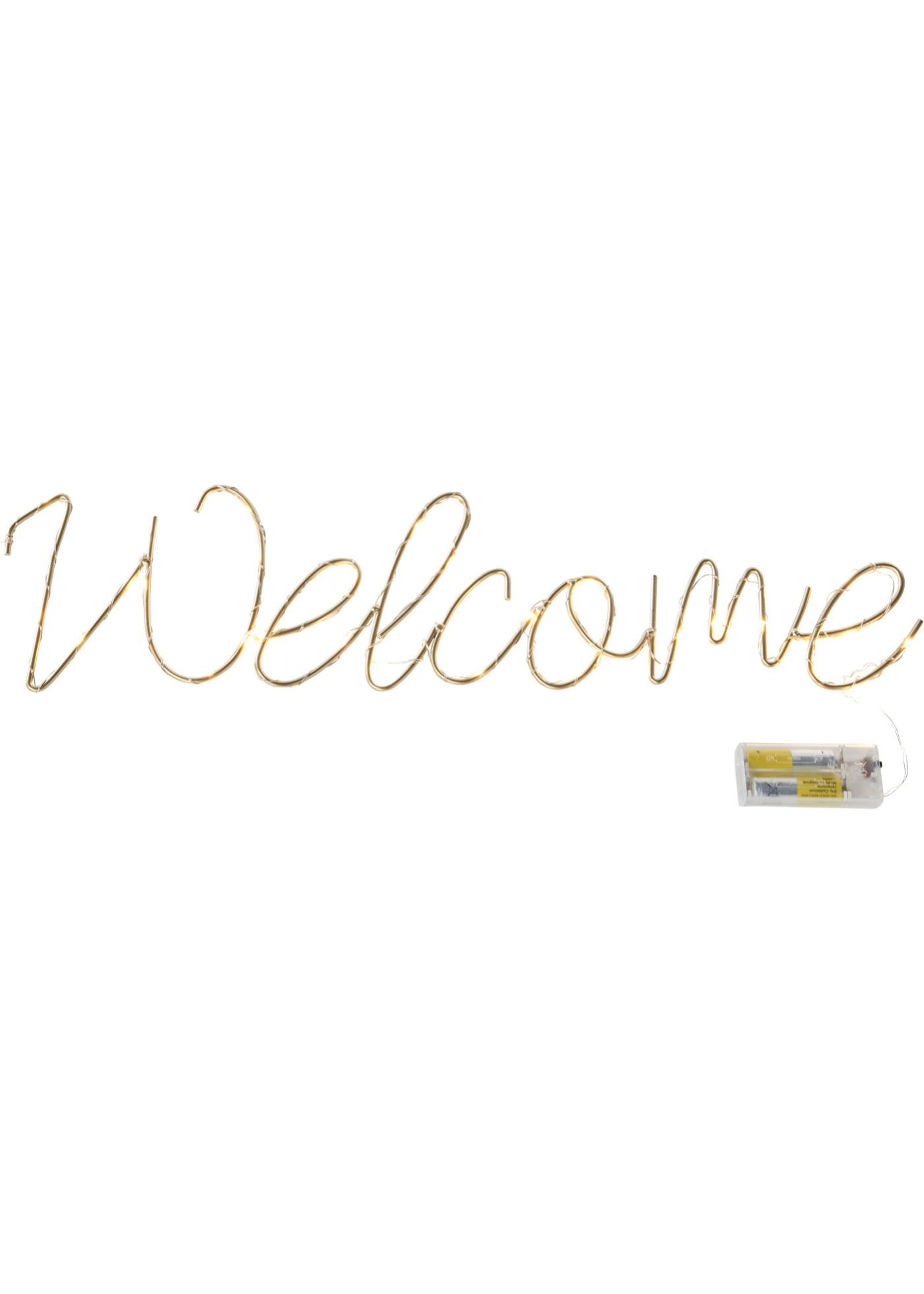 Led-decoratie Welcome