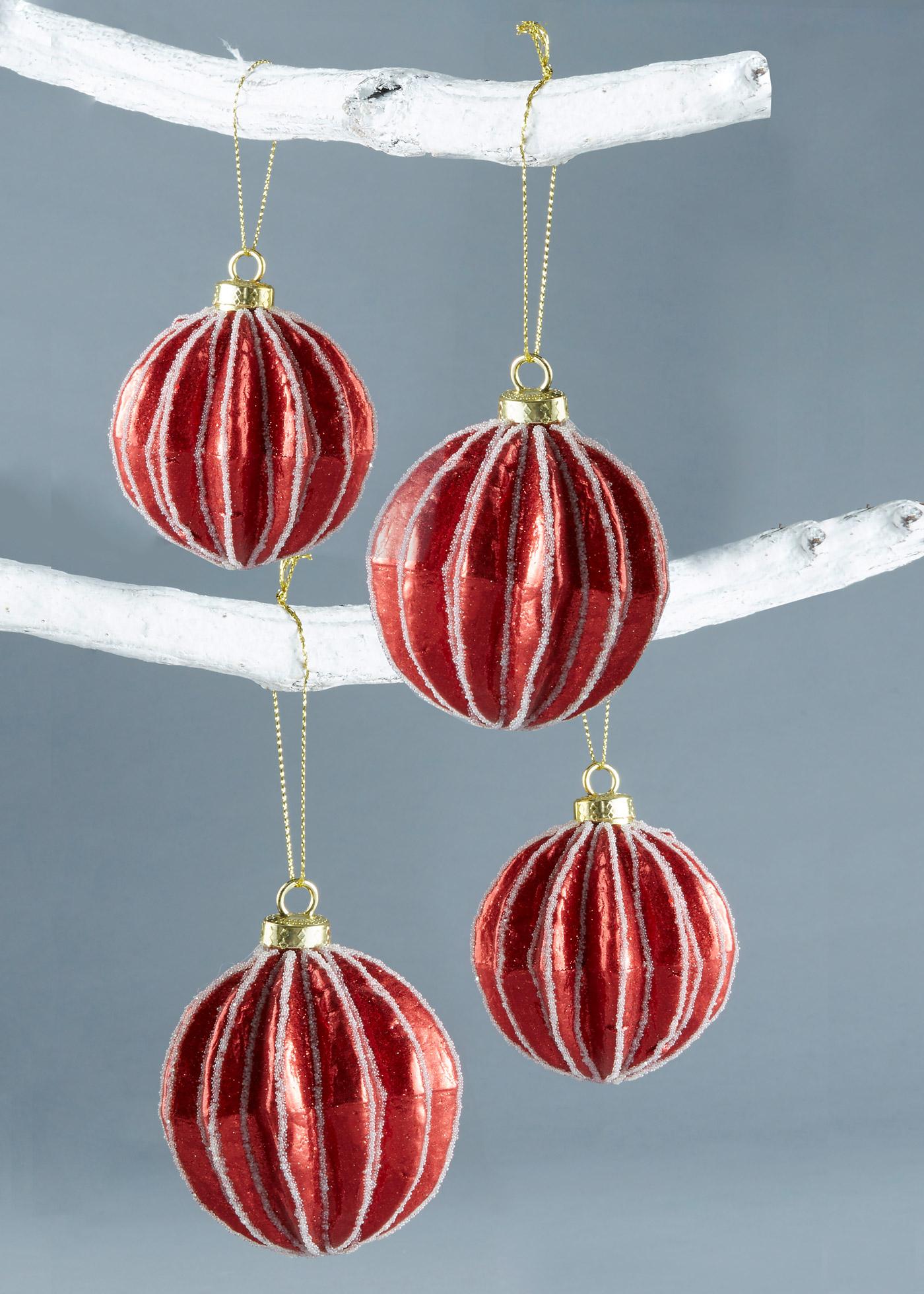 Kerstballen Lina (4 stuks)