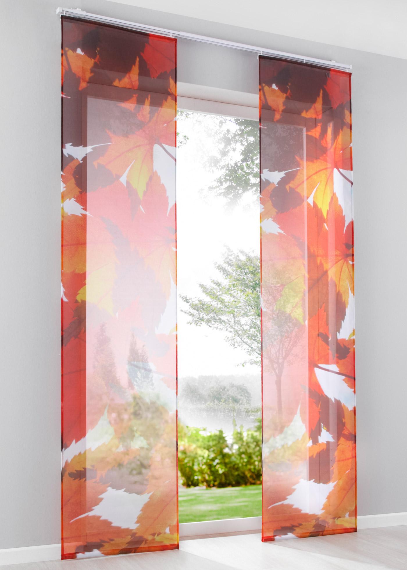 Paneelgordijn Herfst (1 stuk)