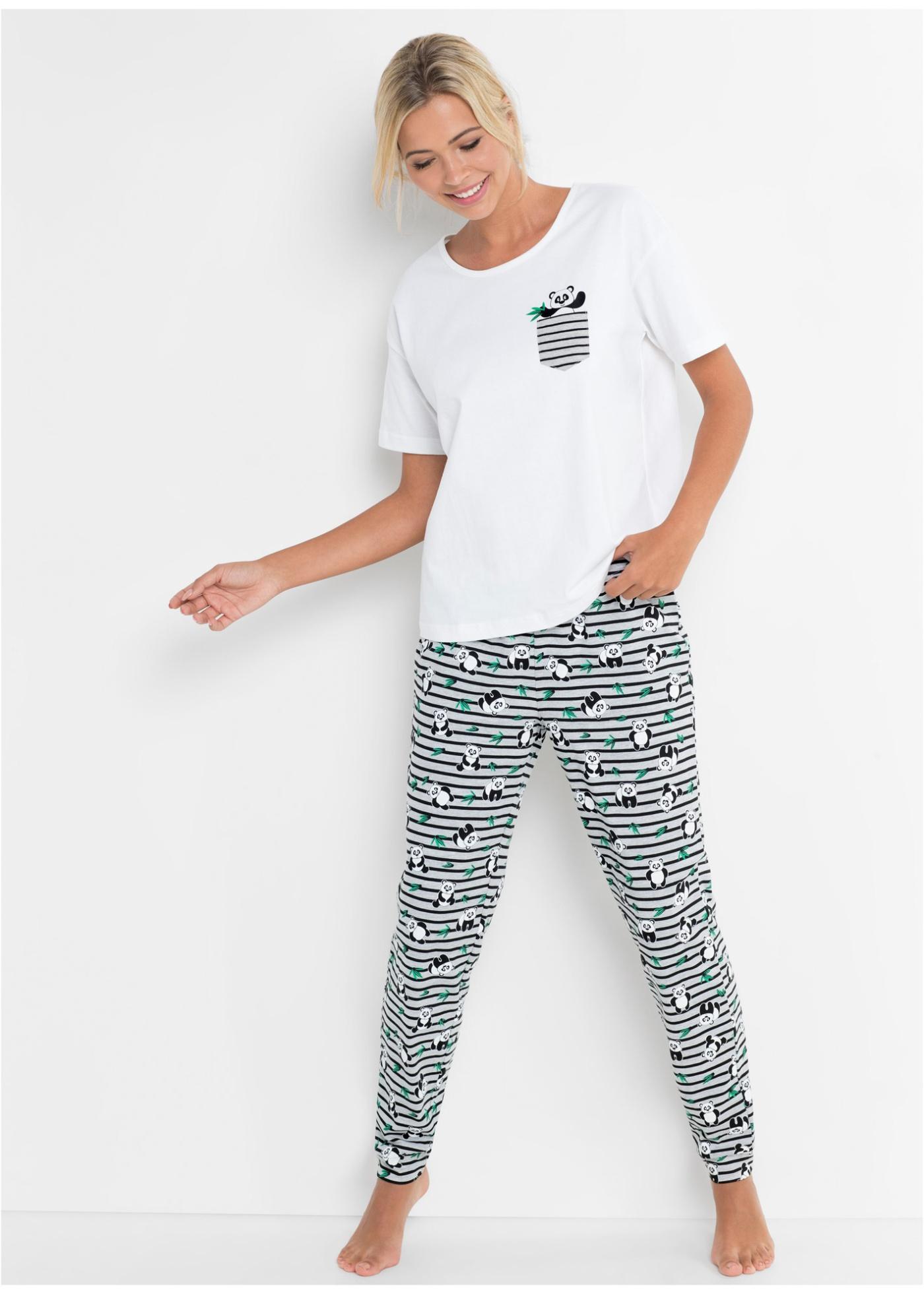 Bonprix Pyjama met oversized shirt (2-dlg. set)