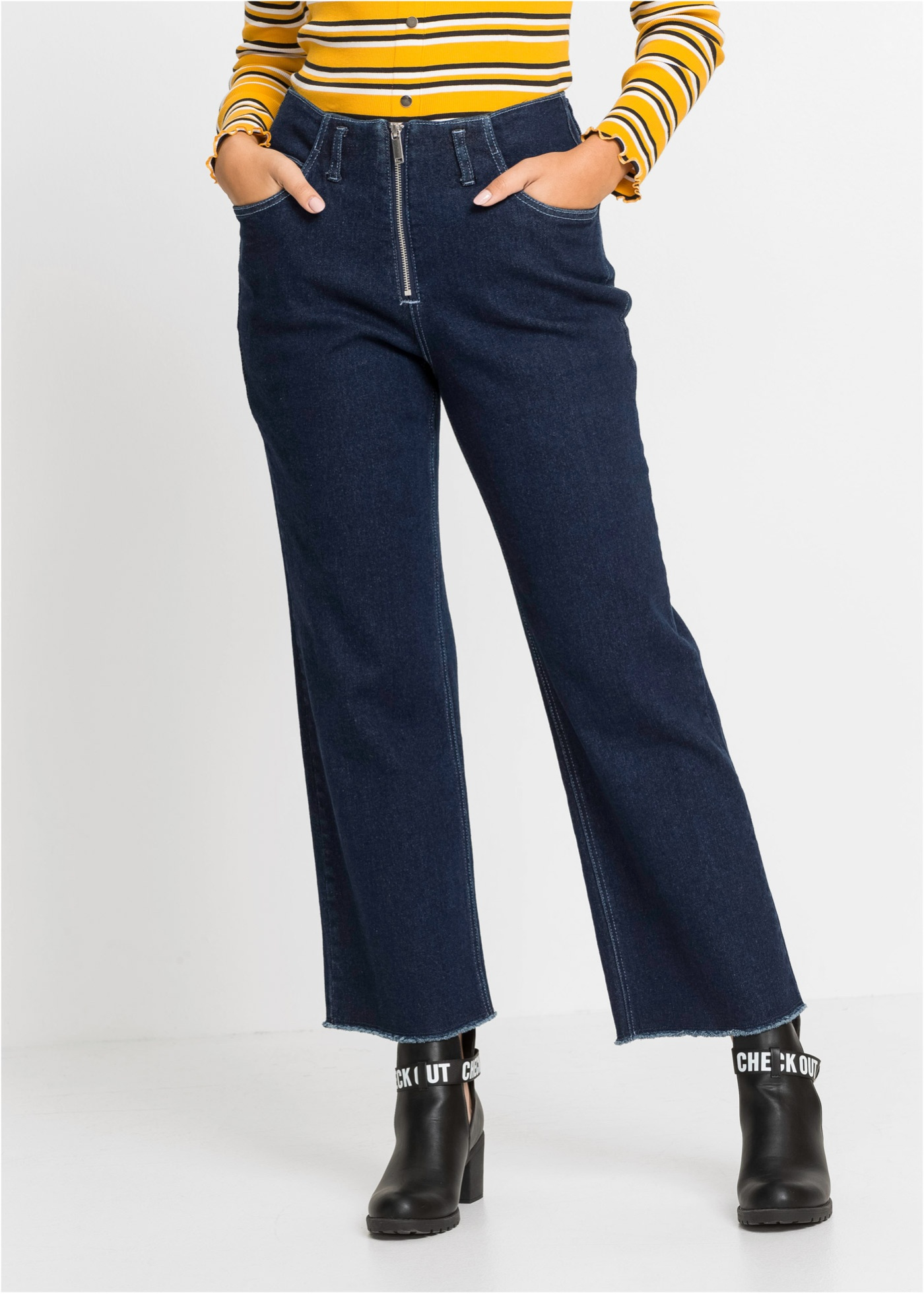 Culotte-jeans