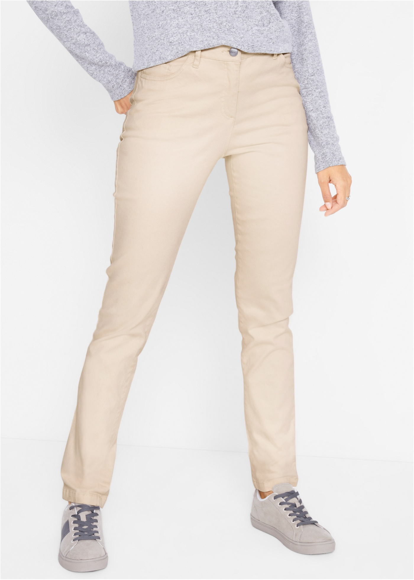 Bonprix Slim fit stretch broek