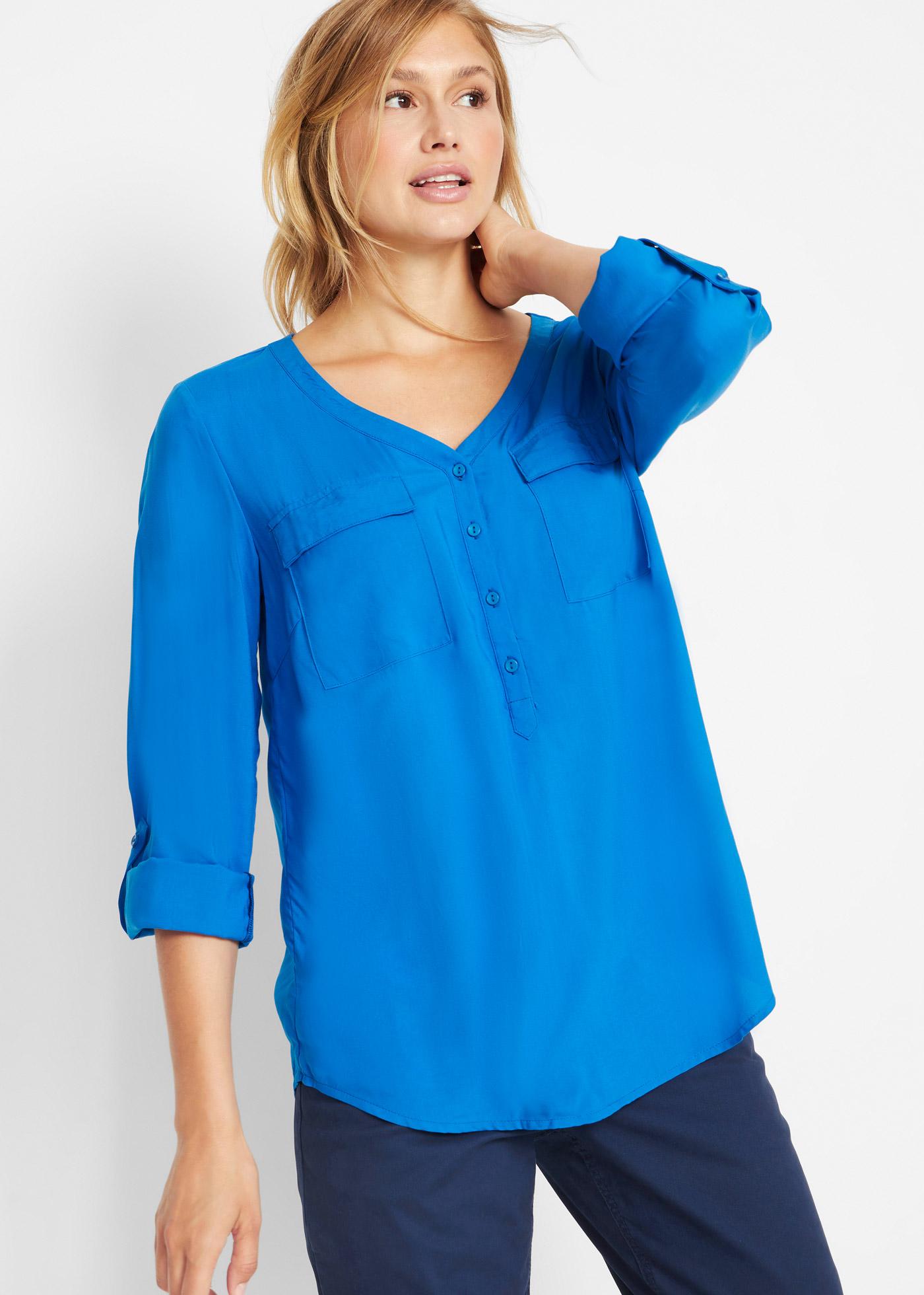 Bonprix Viscose blouse met V-hals