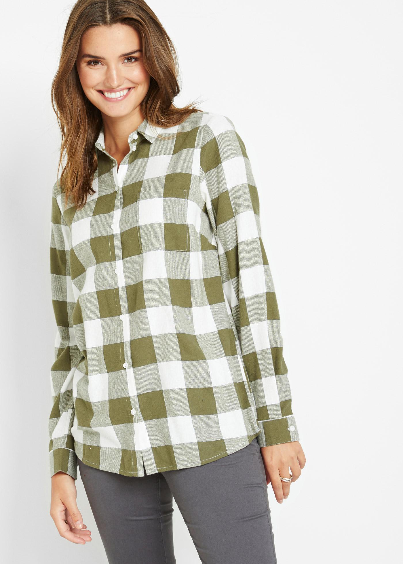 Bonprix Flanellen blouse