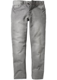 Jeans slim fit straight, RAINBOW, light grey denim