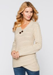 Trui, BODYFLIRT boutique, beige