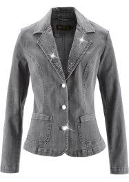 Jeansblazer, bpc selection, grey denim