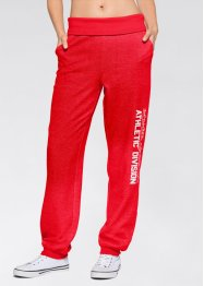 Joggingbroek, bpc bonprix collection, aardbeirood