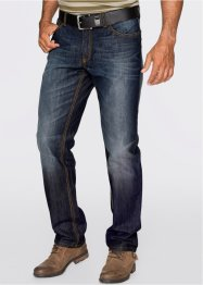 Jeans regular fit straight, John Baner JEANSWEAR, donkerblauw used