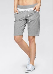 Sweatshort, bpc bonprix collection, lichtgrijs gemêleerd
