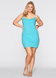 Jurk (set van 2), bpc bonprix collection, aqua+zwart