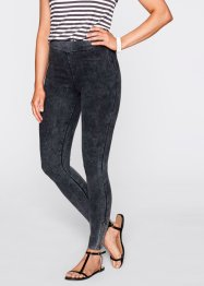 Legging, bpc bonprix collection, leisteengrijs