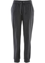 Joggpants, bpc bonprix collection, antraciet gemêleerd