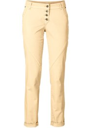 Stretchbroek loose fit, RAINBOW, new beige