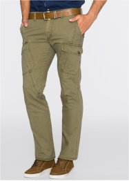 Cargobroek regular fit, bpc bonprix collection, kakigroen