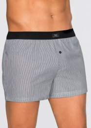 Geweven boxershort (set van 3), bpc bonprix collection, gestreept
