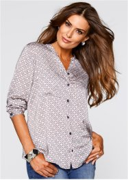 Blouse, bpc selection premium, zacht roze gedessineerd