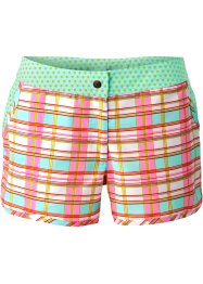 Strandshort, bpc bonprix collection, roze/lichtblauw