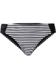 Bikinibroekje, bpc bonprix collection, zwart/wit gestreept