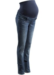 Zwangerschapsjeans straight, bpc bonprix collection, darkblue stone