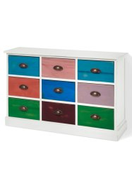 Commode «Sandra», bpc living, wit/multicolor